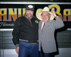 Eugene with Charlie Daniels
