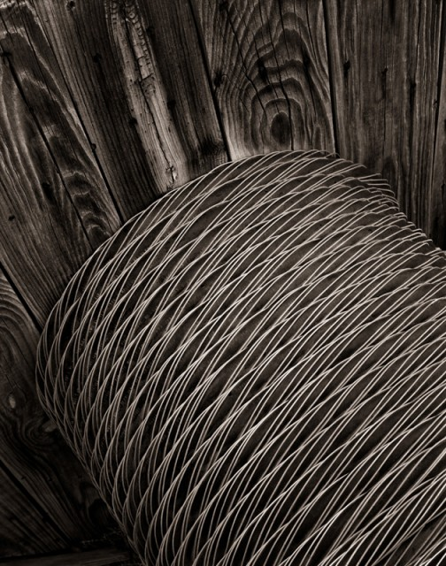 Spooled Cable, Curtis Farm, 2014