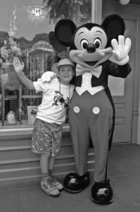 Alex with Mickey