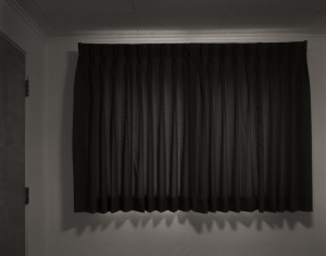 Curtain, Room 33, Shady Court, 2016
